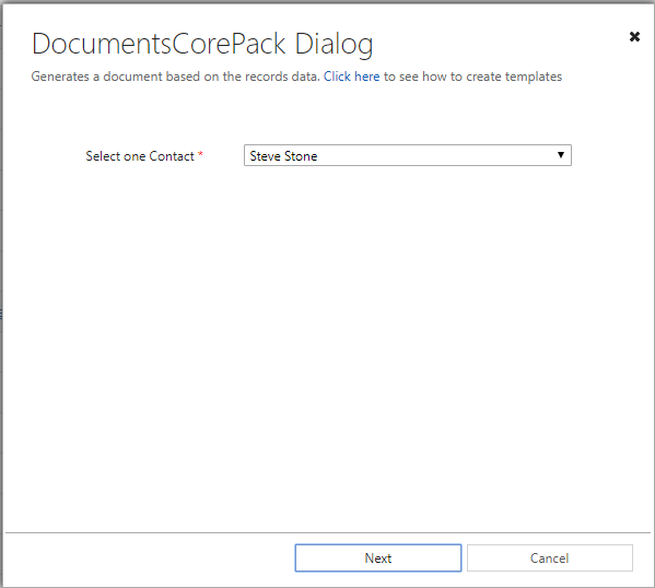 Generate the Document