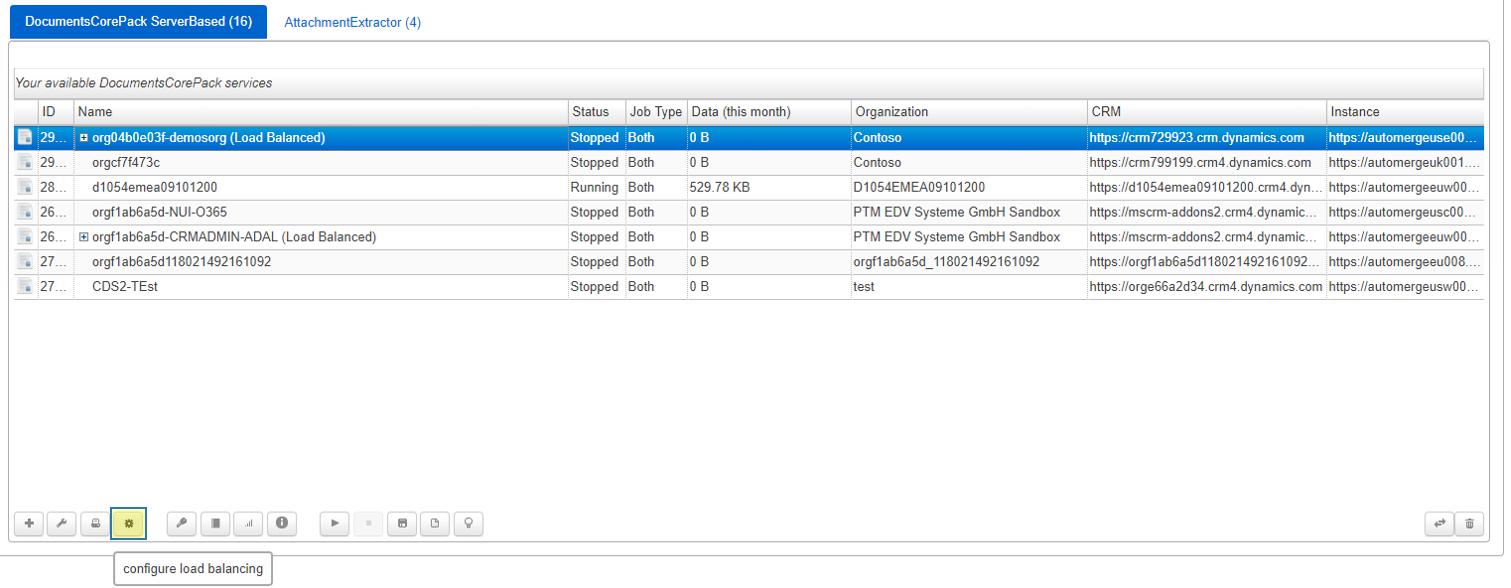 Online Configuratin window