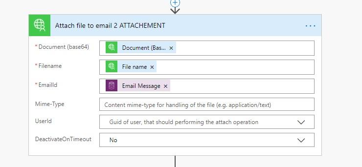 Attach Email Attachment